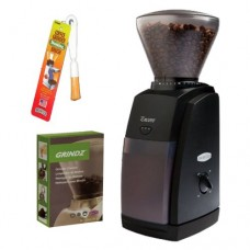 Baratza 485 Encore Coffee Grinder + Coffee Grinder Cleaner + Coffee Grinder Dusting Brush