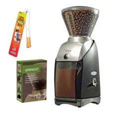 Baratza 586 Virtuoso Coffee Grinder + 3-pack 35G Grindz Coffee Grinder Clea